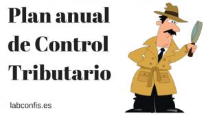 Plan Anual de Control Tributario