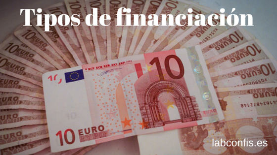 Tipos de financiación